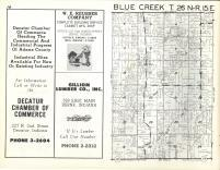 Blue Creek T26N-R15E, Adams County 1962